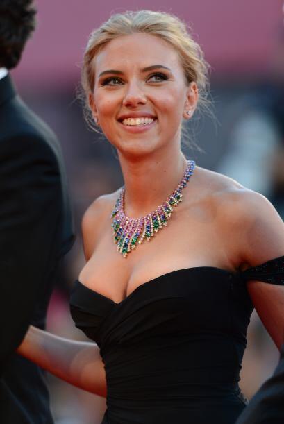 Por su parte, Scarlett Johansson no la tiene fácil en la categoría 'Actr...