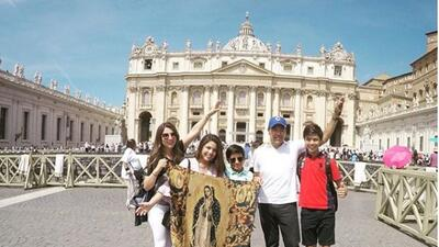 Así fueron las inolvidables vacaciones de Priscila y Gustavo Ángel por Europa al lado de sus hijos
