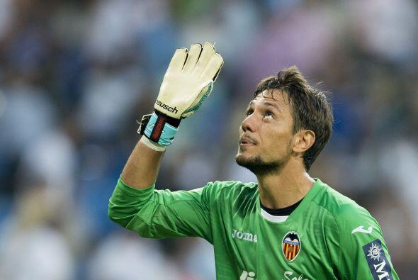 Portero, Diego Alves: El  guardameta del Valencia tuvo una gran actuació...