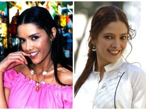 Adela Noriega y Marlene Favela