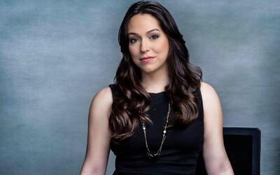 Myrna Salas, presentadora de Edicion Digital San Antonio