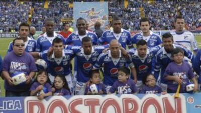 Millonarios de Colombia.