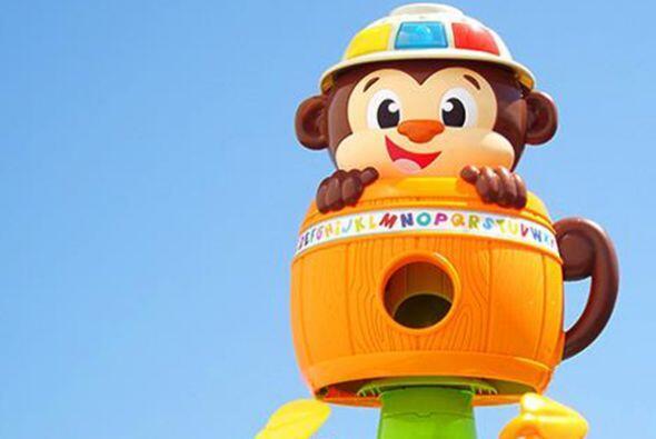 Mono escondido. A este divertidísimo animalito para niños de hasta cuatr...