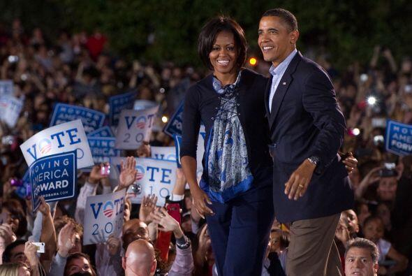 Obama demostró que todavía tiene el fuego necesario para atraer a una mu...