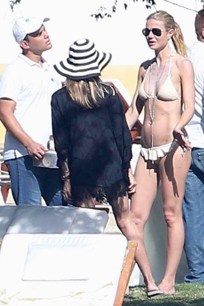 Gwyneth Paltrow en tremendo bikinazo.