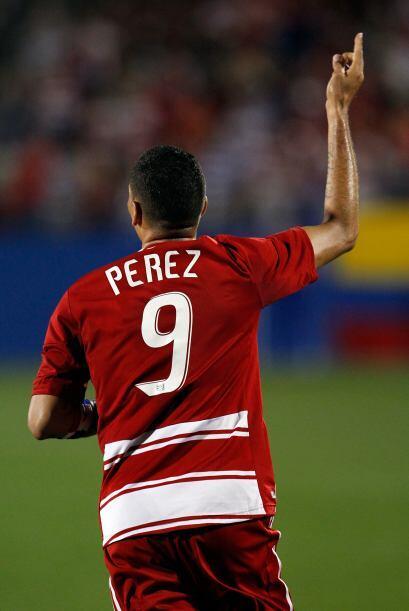 Blas Pérez había puesto adelante a los texanos a los 22 minutos.