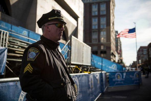 Boston ya está repleto de banderas, escaparates y carteles con lo...