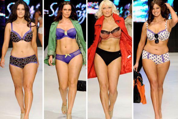 ¿Quién dijo que las mujeres de tallas grandes no pueden lucir espectacul...