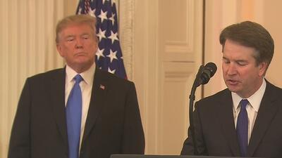 Brett Kavanaugh es nominado por Trump para magistrado de la Corte Suprema