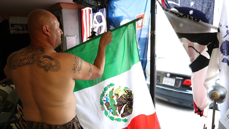 El 'búnker', en Tijuana, es el lugar fundado por Barajas para re...