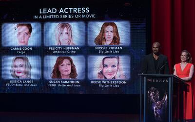 Se anunciaron a los nominados al Emmy 2017.