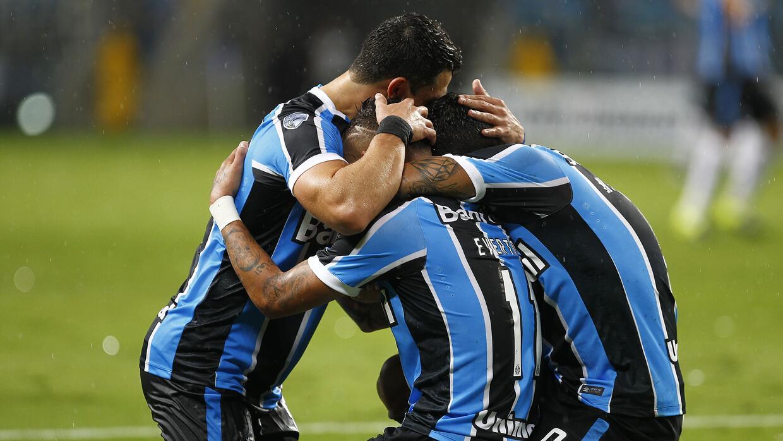 Gremio goleó a la Liga Deportiva