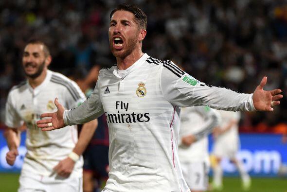 Sergio Ramos sigue siendo el jugador que aparece en los momentos importa...