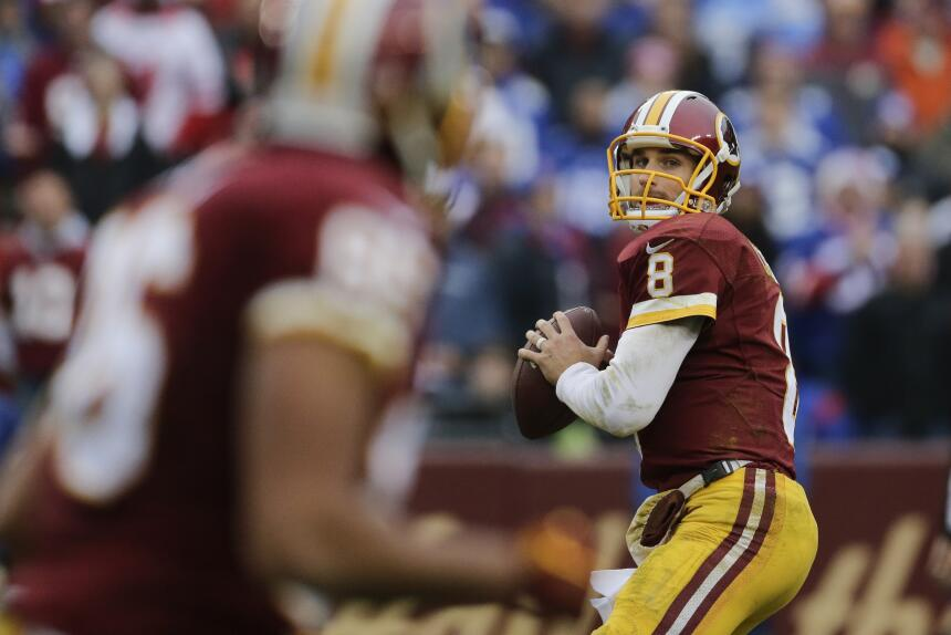 Los Washington Redskins empataron a los New York Giants al tope del Este...