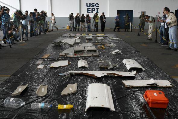 A casi dos años del accidente del vuelo Rio-París de Air France que dejó...
