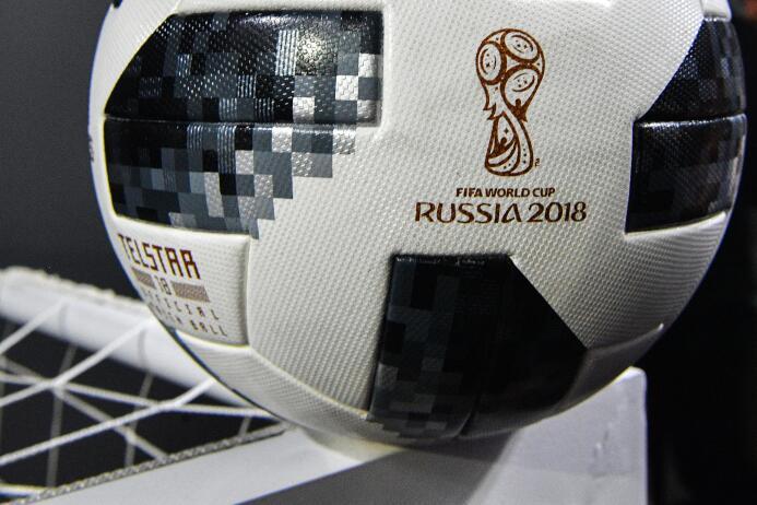 Messi presentó al mundo la pelota Telstar 18 con la que se jugará el Mun...