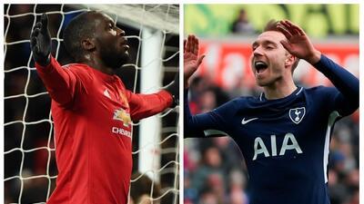 Manchester United y Tottenham avanzaron a semifinales de la F.A. Cup