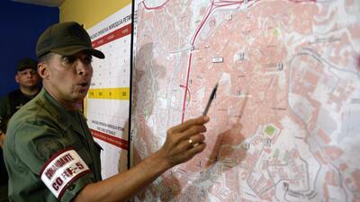 El general Antonio Benavides es el actual comandante de la Guardia Nacio...