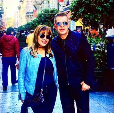 Sergio Goyri y su novia