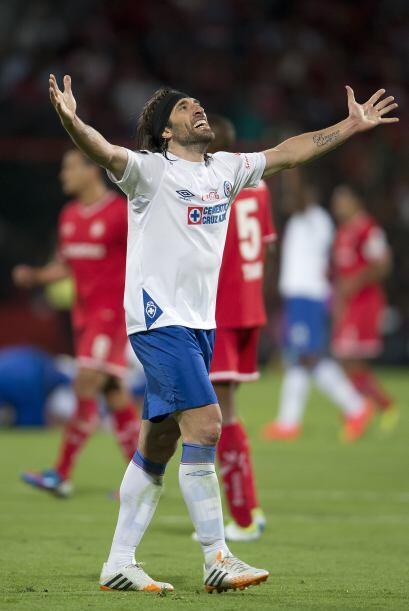 Mariano Pavone se quitó muchísima tensión de encima...