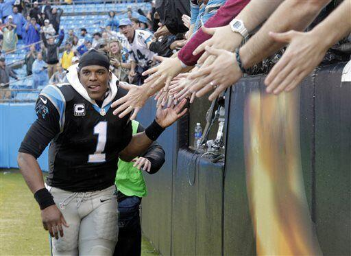 Cam Newton, quarterback de los Carolina Panthers (AP-NFL)