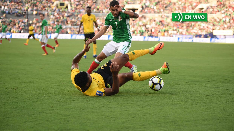 México vs. Jamaica en vivo Copa Oro 2017.
