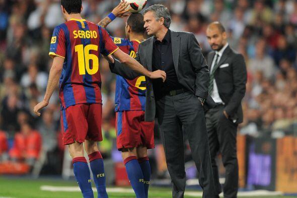 El duelo Guardiola-Mourinho hizo del Barcelona-Real Madrid un partido di...