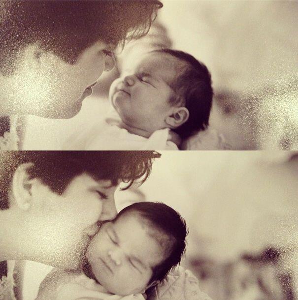 Esta bebita forma parte de una de las familias más famosas de la televis...