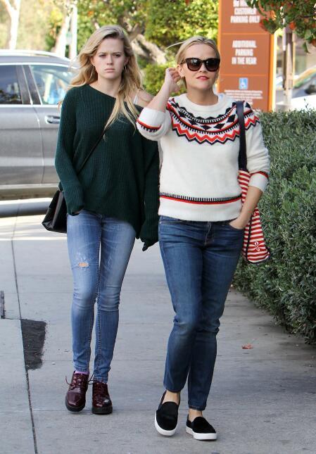 Reese y su hija, se ven freaky una junto a la otra BG_RWAHID151214_13.jpg