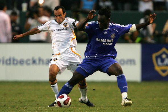 El marfileño Michael Essien tuvo la oportunidad de disputar un juego de...