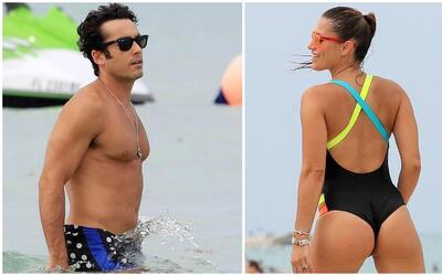 El actor y modelo mexicano Aarón Díaz encontró el v...
