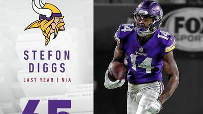 #65 Stefon Diggs (WR, Vikings) | Top 100 Jugadores NFL 2018
