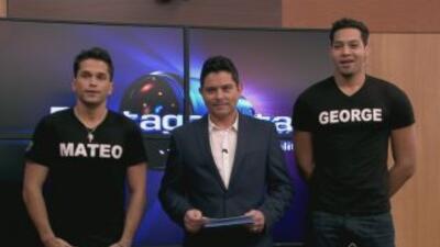 Mateo y George esperan tu voto