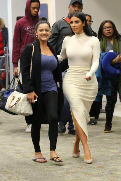 Nuestra querida Kim Kardashian ha regresado a su rutina normal, despu&ea...