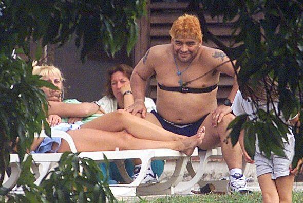 La Hacienda Italiana le exige a Diego Armando Maradona el pago de 40 mil...