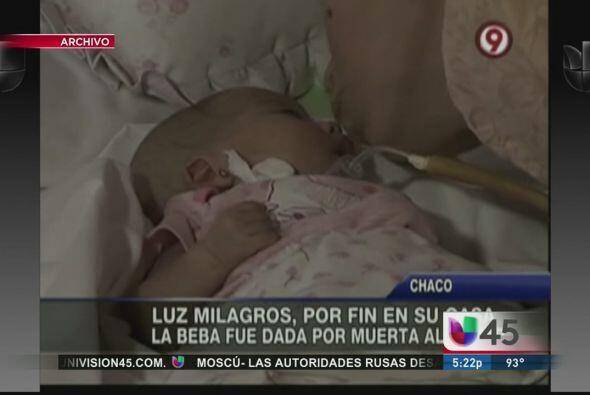 Y en una nota inesperada, la niña milagro de Argentina, quien fue encont...