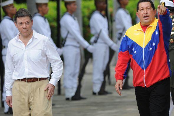 El encuentro se realiza dos días después de la investidura de Santos com...