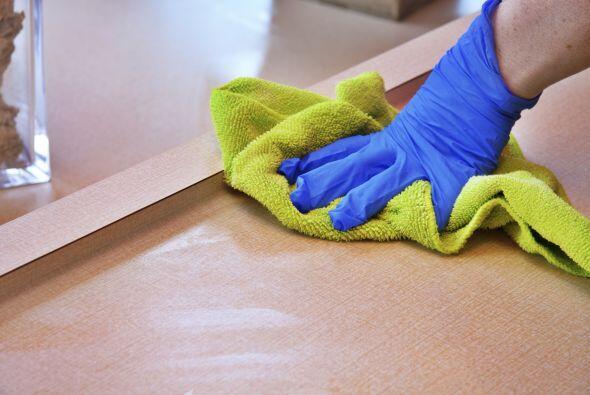 Esta técnica de limpieza sirve para eliminar los desechos y sus olores p...