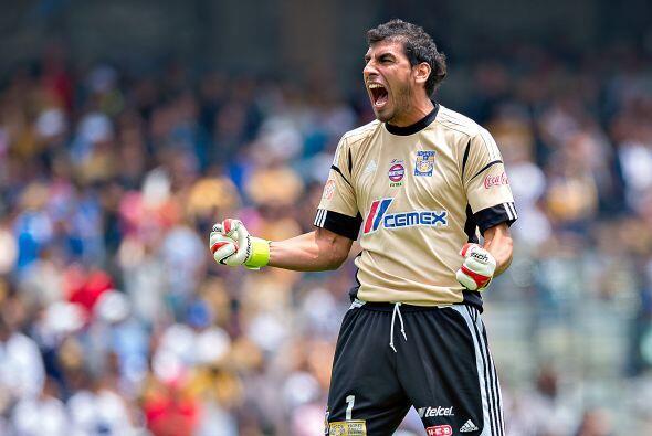 Nahuel Guzmán, el portero de Tigres espera seguir en el gran nivel que h...