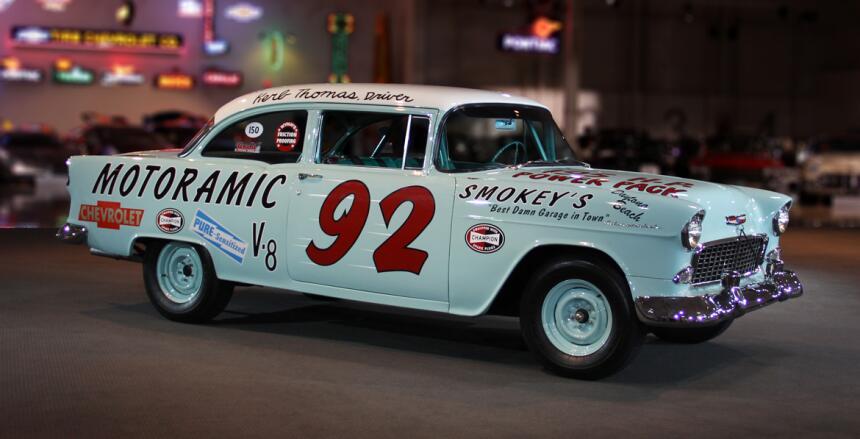 El Camaro se apodera de todo el esfuerzo de Chevrolet en NASCAR 1955_Che...
