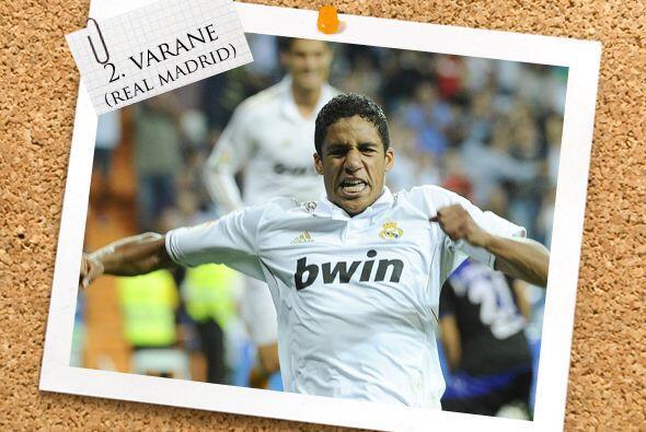La zaga inicia con un francés que desea triunfar de blanco, Raphael Varane.
