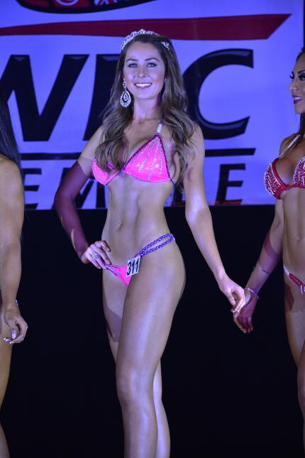 El Consejo Mundial de Boxeo tuvo un concurso de Miss belleza.