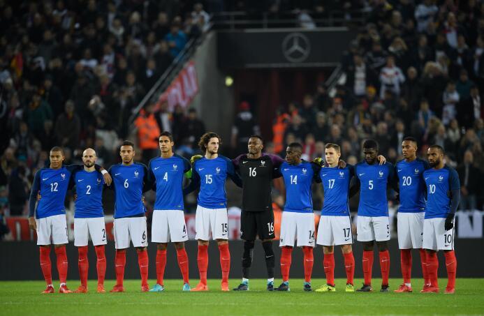 9. Francia (UEFA) - 1,183 puntos
