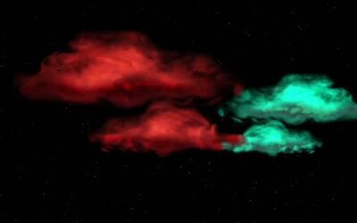 La NASA crea nubes multicolores para estudiar la ionosfera de la Tierra