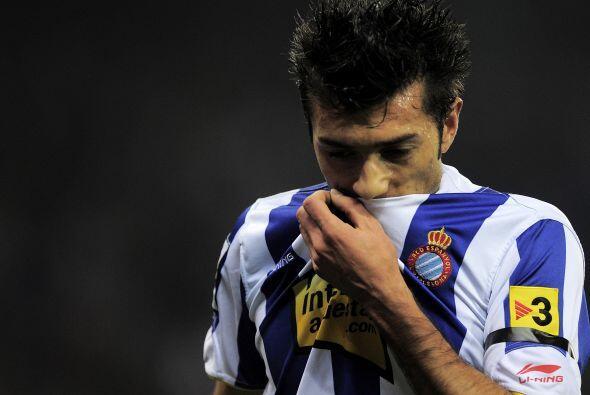 Espanyol no podía creer que ya perdieran por dos goles en el global.