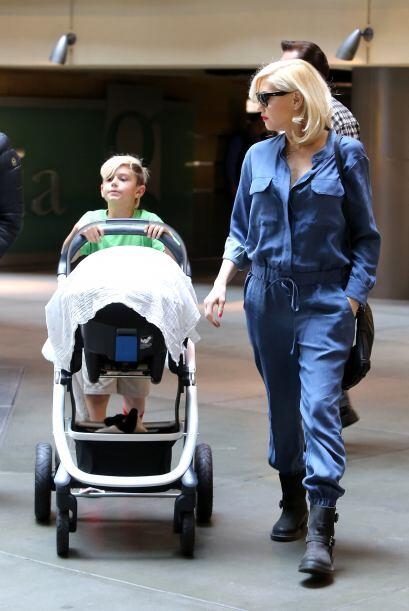 A sus 44 años de edad Gwen Stefani acaba de tener a su tercer bebé y es...