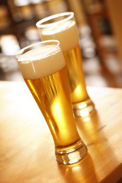 Se supone que consumían 135 oz (unos 4 litros) de cerveza por día.