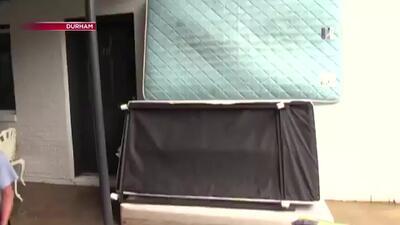Residentes en Durham sufren afectaciones en su vivienda por las lluvias