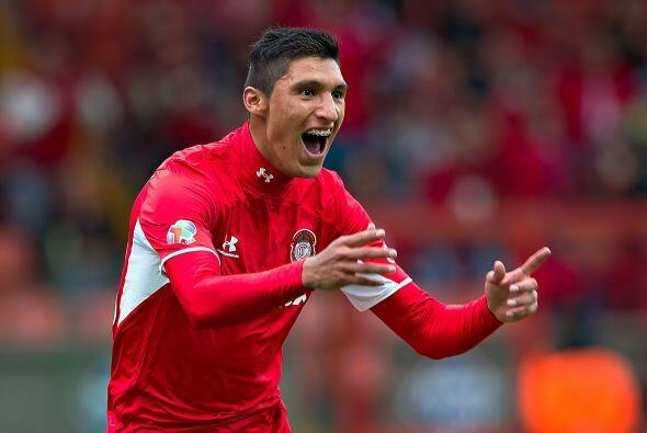 Jordan Silva, el lateral de Toluca despuntó el torneo pasado con los esc...