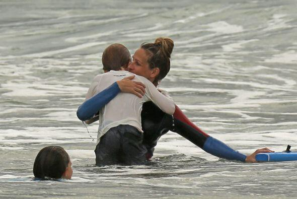 Entre la arena, el mar y el buen clima todo fueron sonrisas.Mira aquí lo...